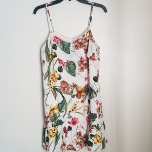 Tropical floral sundress